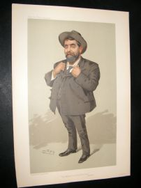 Vanity Fair Print 1905 Mr Will Crooks